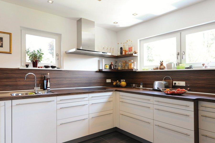 Eine Küche von innen